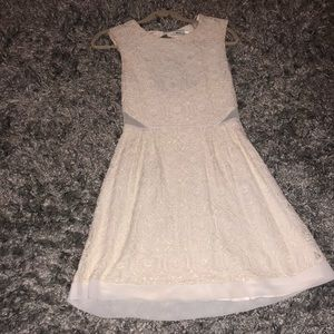 Urban Outfitters white lace tank top dress size 4